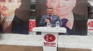Son Dakika! MHP İlçe Kongresinde Tek Aday Çetin İnci