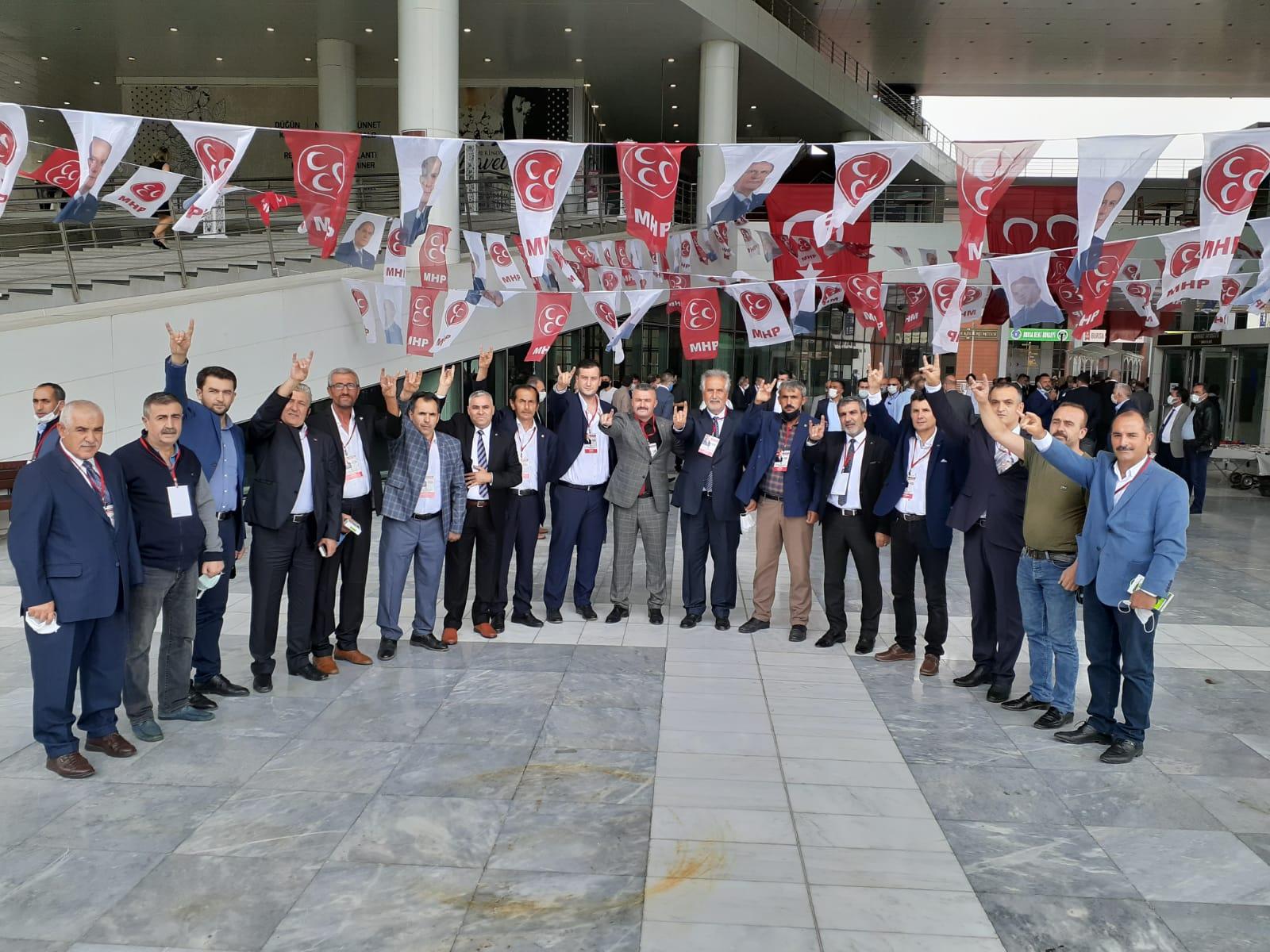 Mhp Bursa İl Kongresi Yapıldı Necati Güneş Listede!