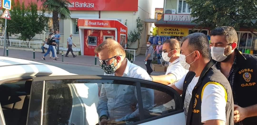 Suçüstü Yakalanmıştı Tutuklandı!