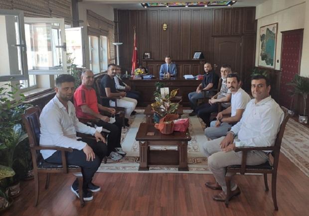 Gençlerbirliği Yönetimi Kaymakam Süleyman Özçakıcı'yı Ziyaret Etti!