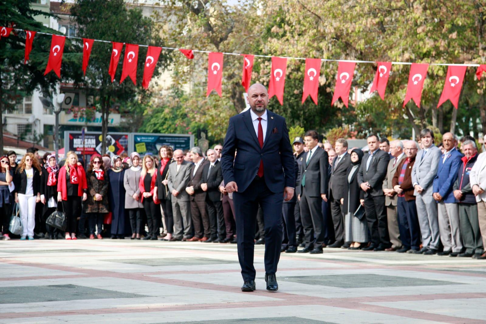 Başkan Aydın'dan 29 Ekim Cumhuriyet Bayramı Mesajı