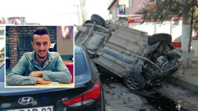 Orhangazi'de Feci Kaza 1 Ölü!