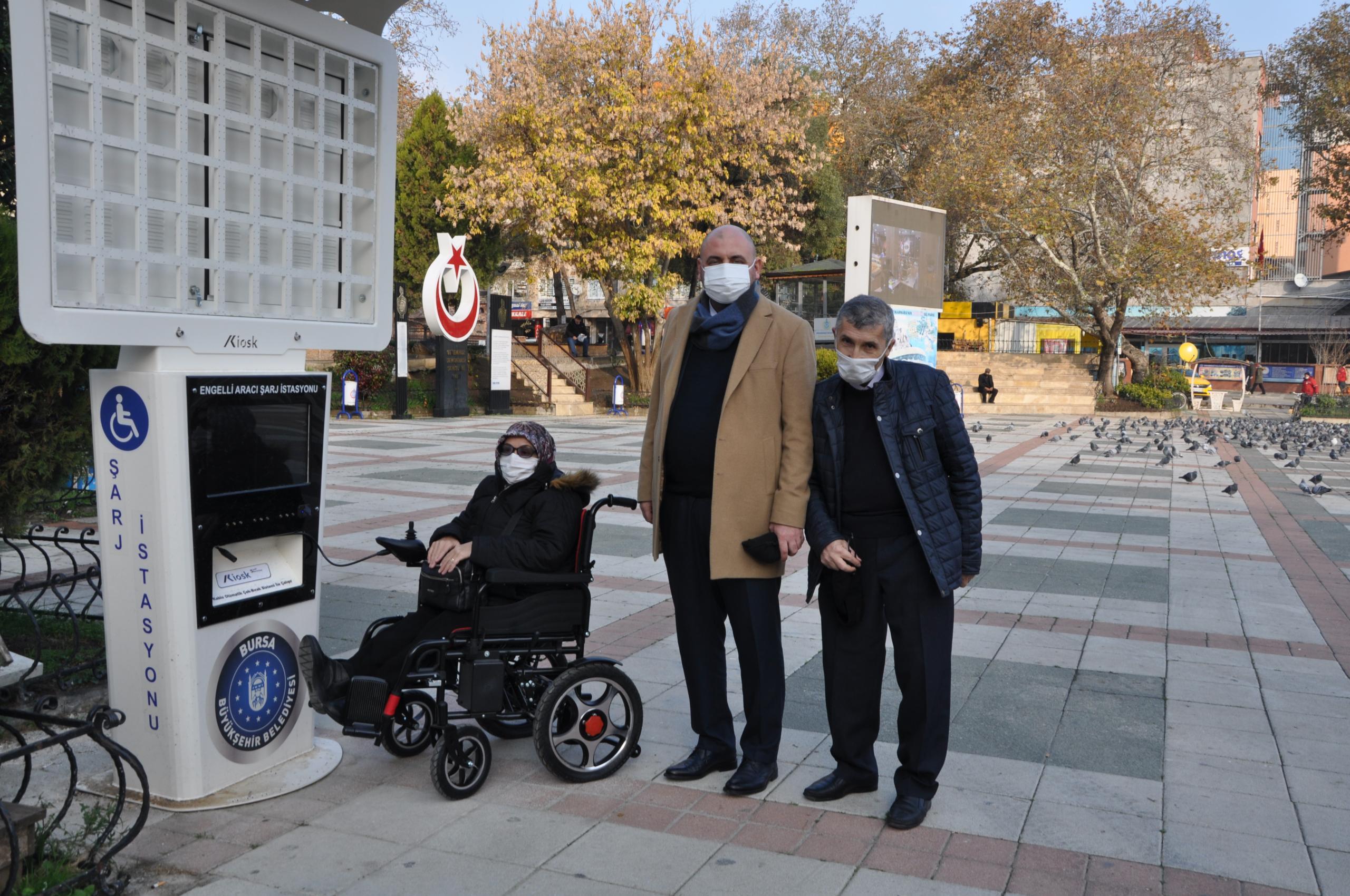Engelli Şarj İstasyonu Yenilendi