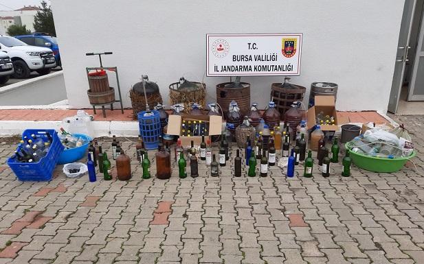 Orhangazi'de Yılbaşı Öncesi Kaçak İçki Operasyonu !