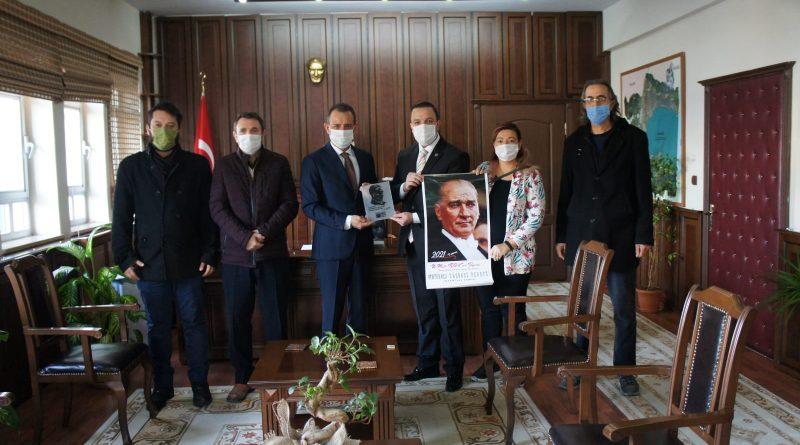 ADD'den Kaymakam Süleyman ÖZÇAKICI'ya Ziyaret