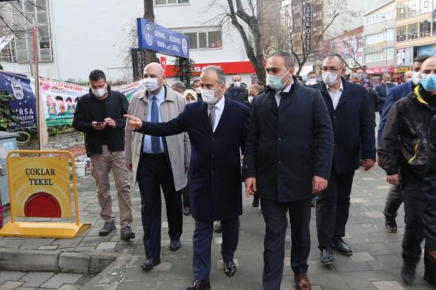 Alinur Aktaş'tan Orhangazi'ye Geniş Kapsamlı Ziyaret