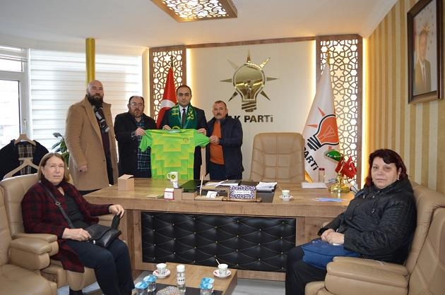 Hürspor Yönetiminden Gökhan Ulusu'ya Hayırlı Olsun Ziyareti
