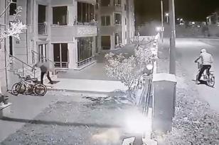 İznik'te Bisiklet Hırsızlığı Kamerada