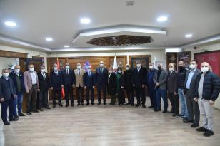 Ak Parti Bursa İl Yönetiminden Orhangazi Ziyareti