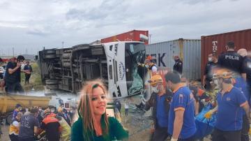 Feci Kazada 26 Yaşındaki Genç Kadın Hayatını Kaybetti