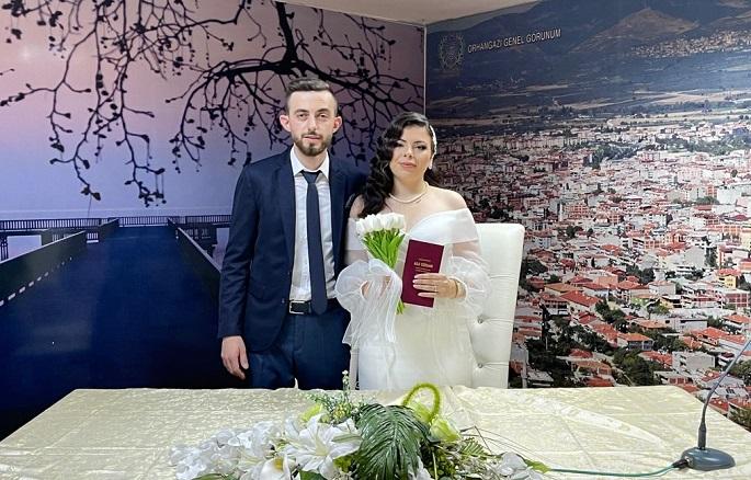 Yasin Ve Ebru Çiftinin Mutlu Günü