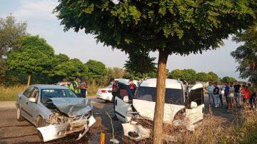 Yeniköy'de Korkutan Kaza 4 Yaralı!