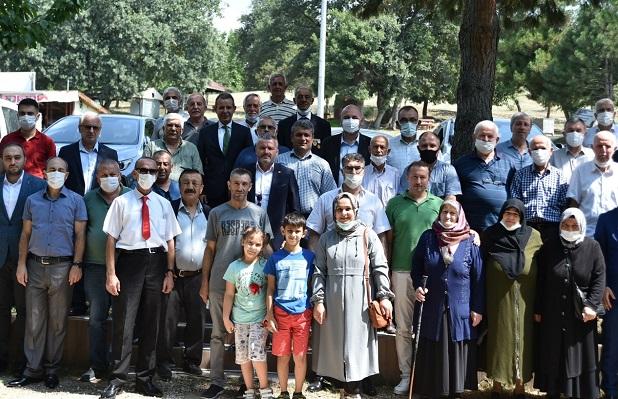 Protokol Şehit Ve Gazi Aileleri İle Bayramlaştı